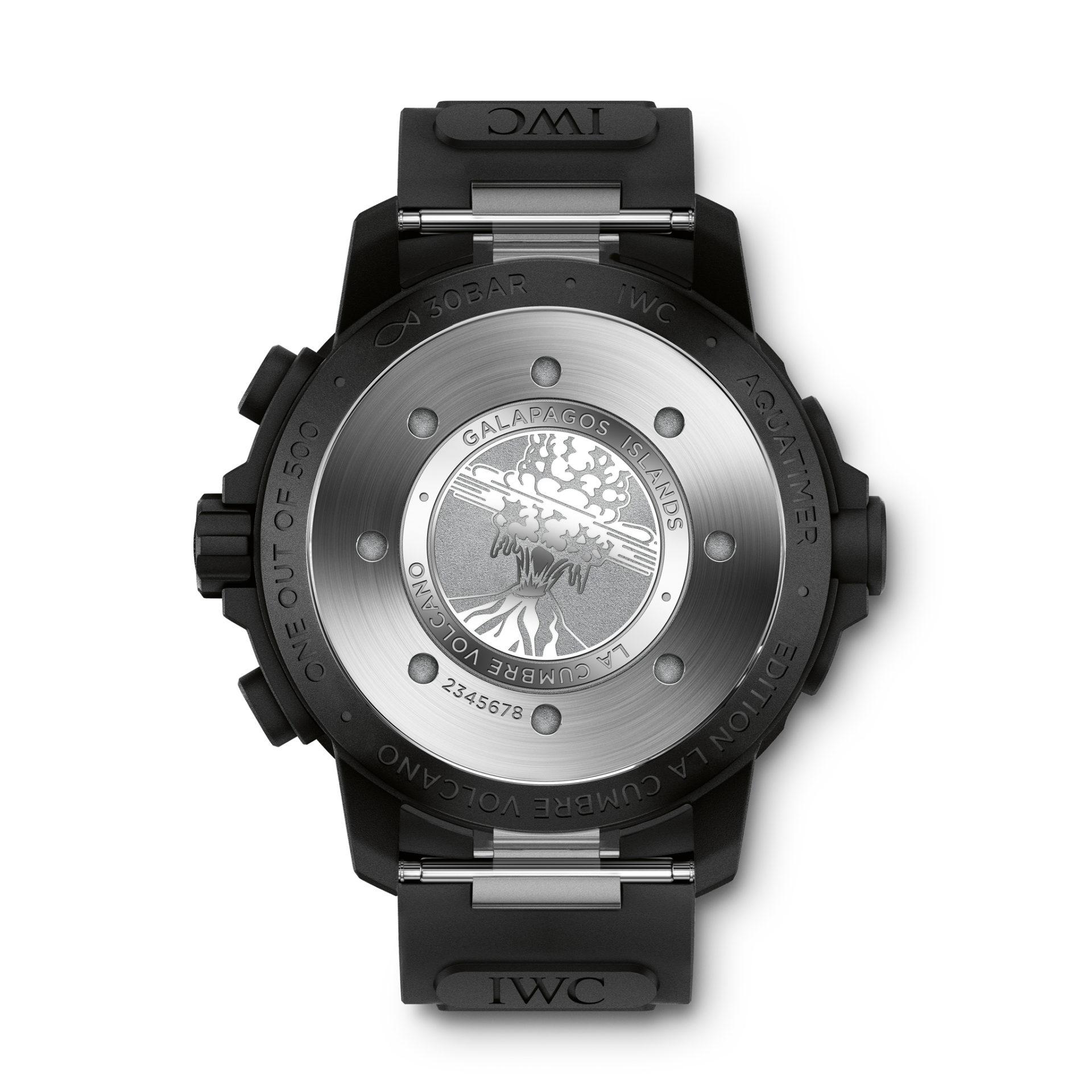 """IWC Schaffhausen Aquatimer Chronograph Edition """"La Cumbre Volcano"""""""
