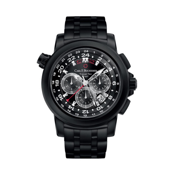 Carl F. Bucherer Patravi Traveltec Black
