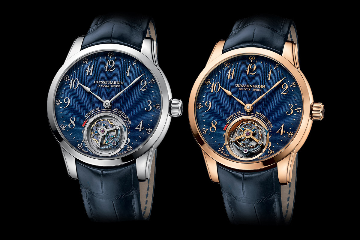 Ulysse Nardin Anchor Tourbillon Blue Enamel