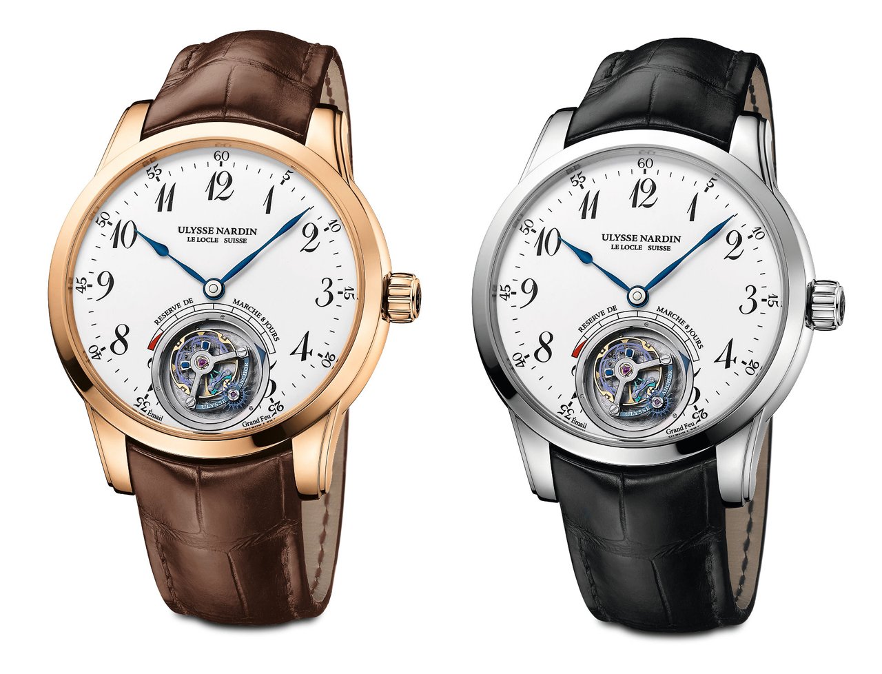 Ulysse Nardin Anchor Tourbillon White Enamel