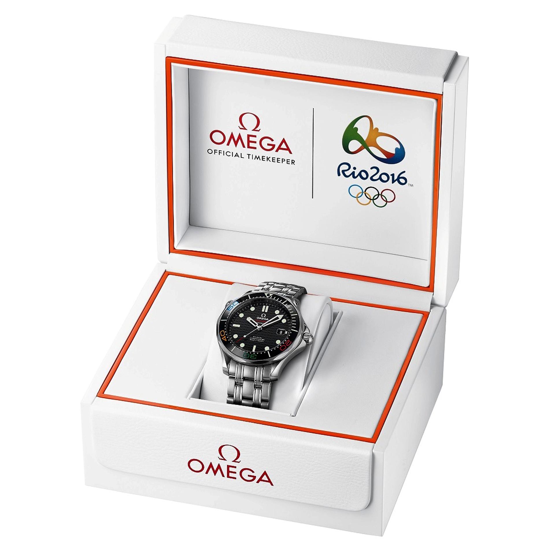 Omega Seamaster Diver 300M Rio 2016 box