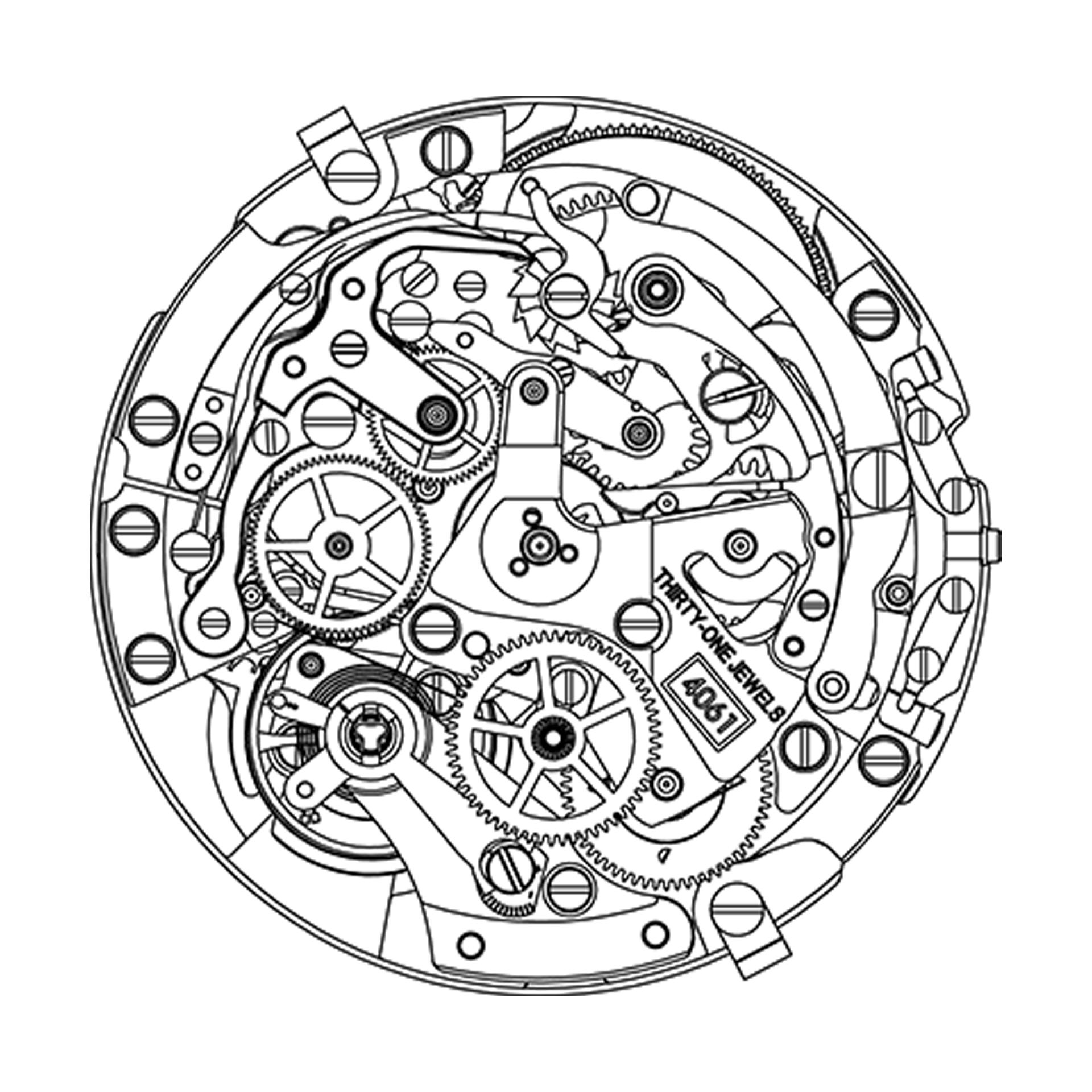 Zenith El Primero Chronomaster Cohiba Edition movement El Primero 4061