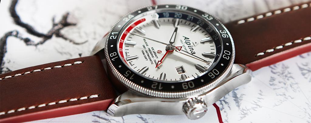 Alpina Alpiner 4 GMT Business Timer side
