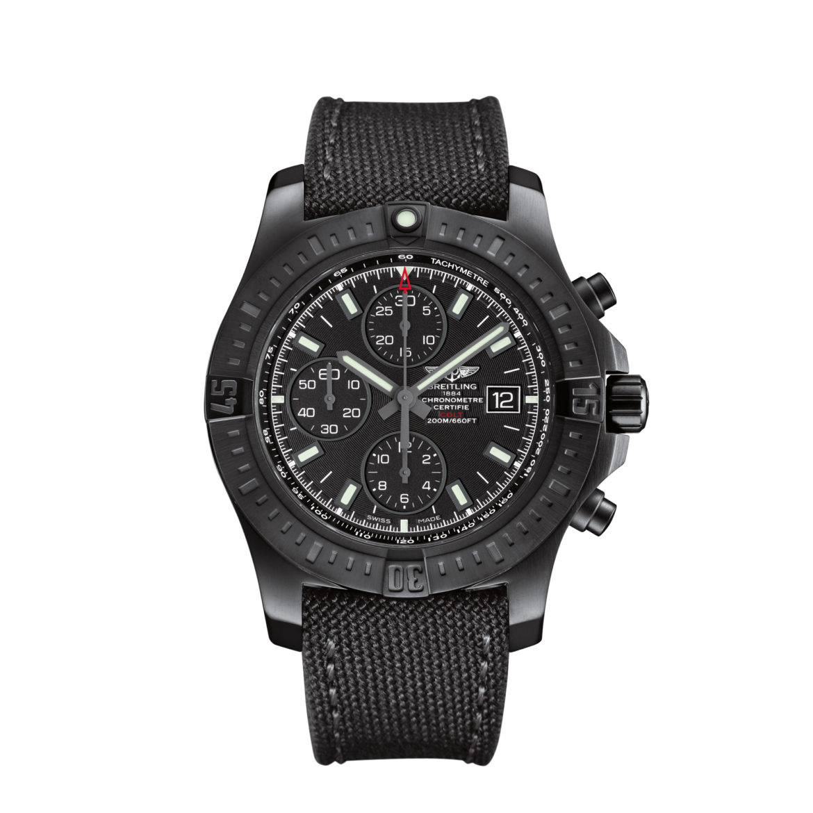 breitling colt chronograph automatic blacksteel your watch hub. Black Bedroom Furniture Sets. Home Design Ideas