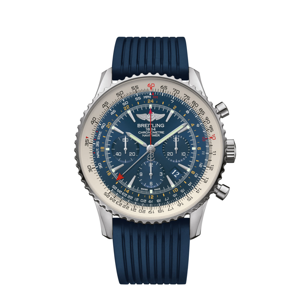 Breitling Navitimer GMT Aurora Blue Limited Edition