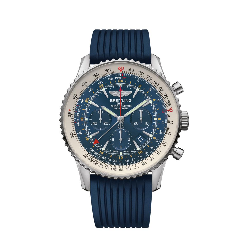 Breitling Navitimer GMT Aurora Blue Limited Edition