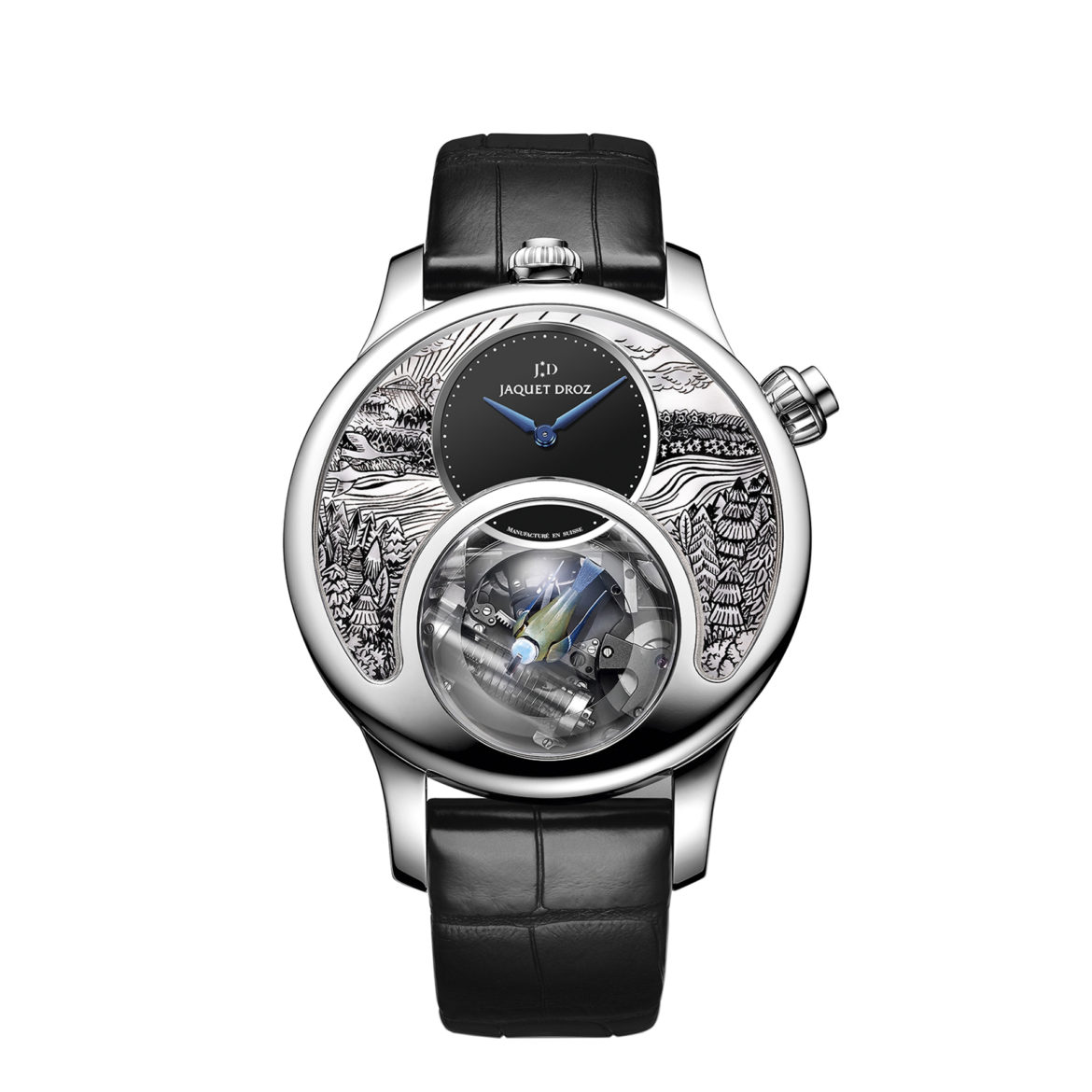 Jaquet Droz Charming Bird - the art of nature at its peak