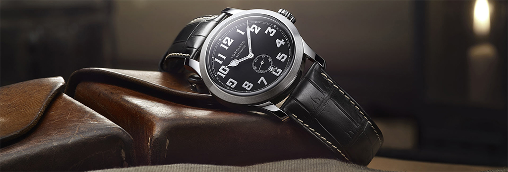 Longines Heritage Military side