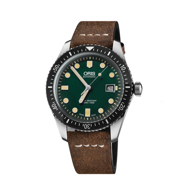 Oris Divers Sixty-Five Green Edition