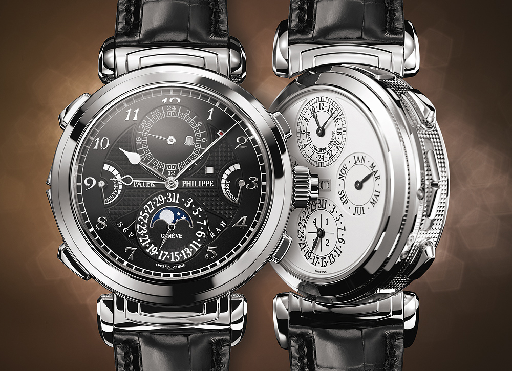 Patek Philippe Grandmaster Chime Ref. 6300G front and back