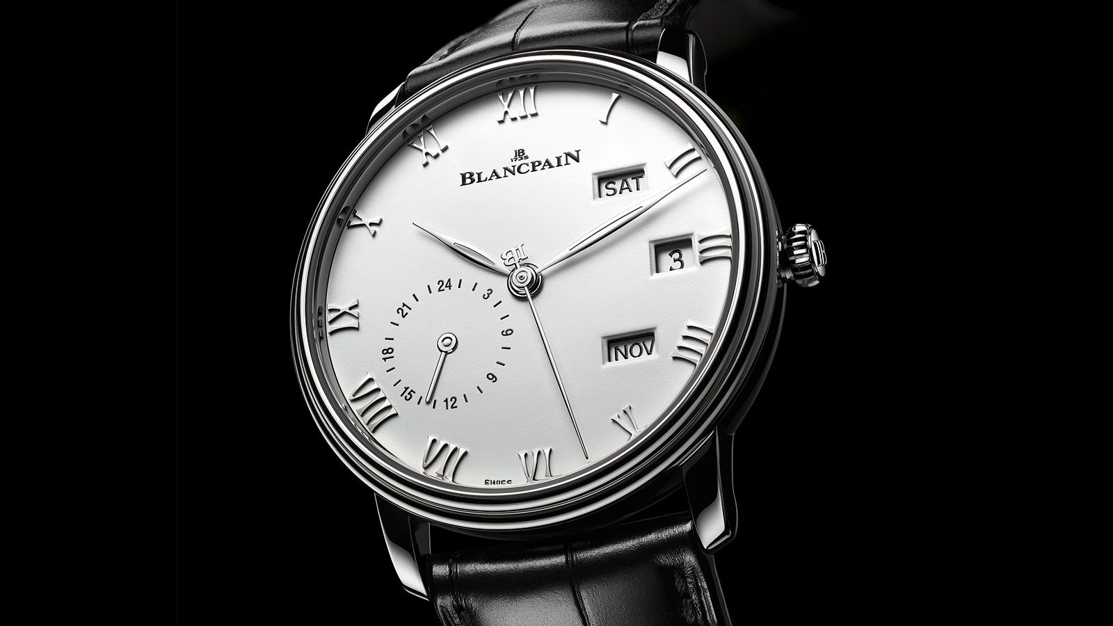 Blancpain Villeret Quantième Annuel GMT Steel side