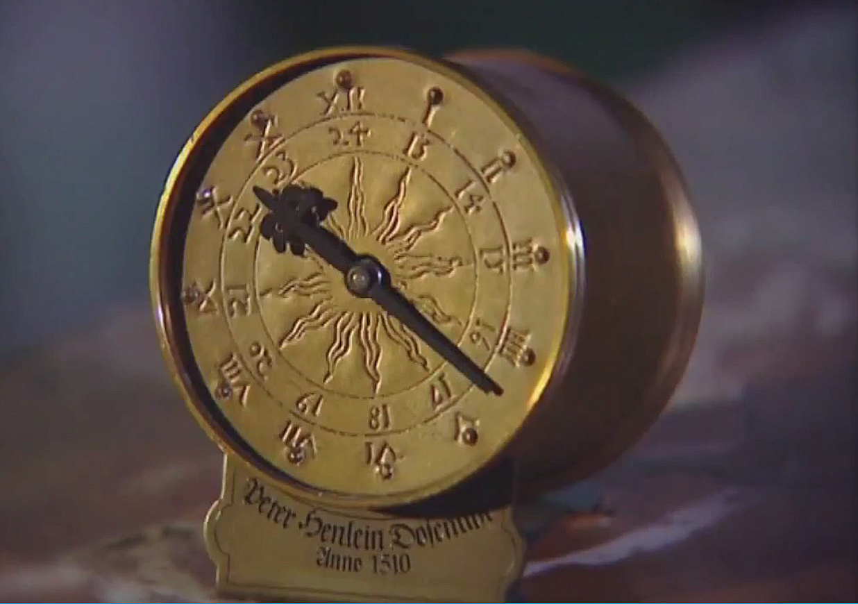 Oldest watch in the world Peter Henlein 1510 clock-watch drum