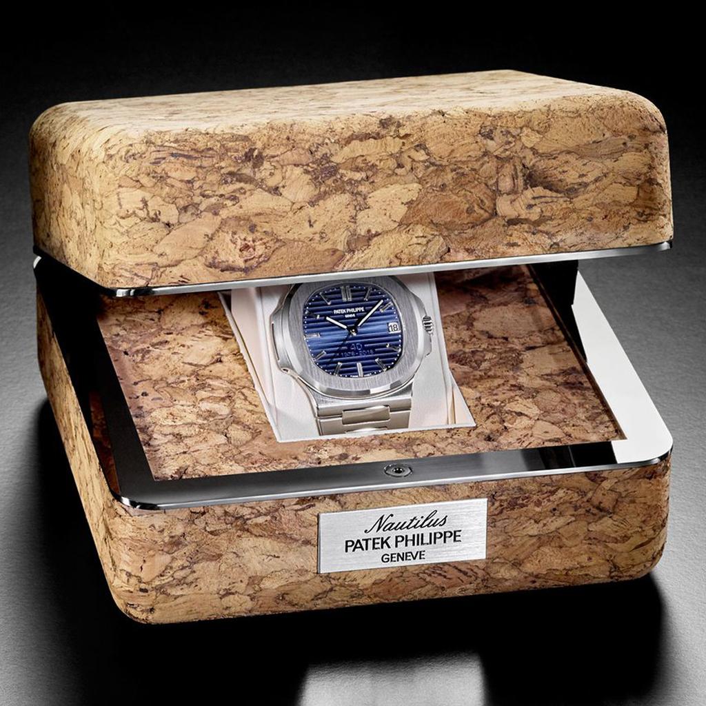 Patek Philippe Nautilus Ref. 5711/1P 40th Anniversary box