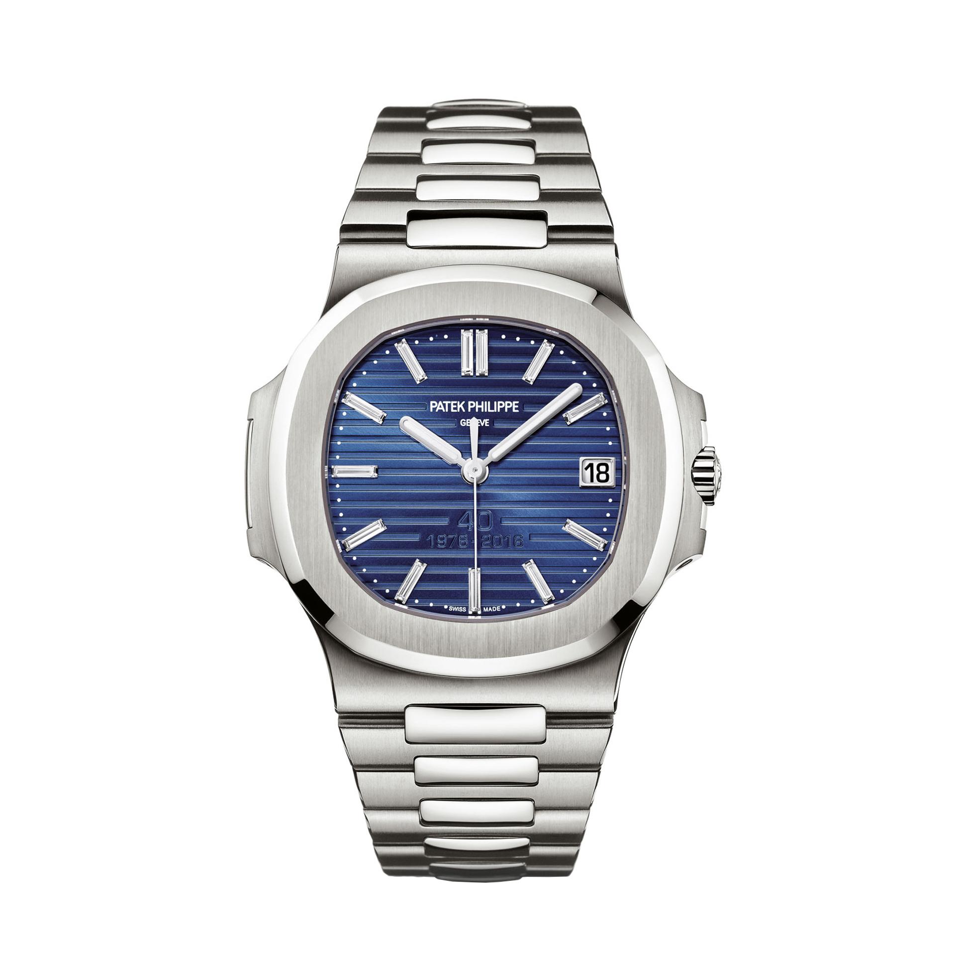 Patek philippe nautilus ref 5711 1p 40th anniversary your watch hub for Patek philippe nautilus