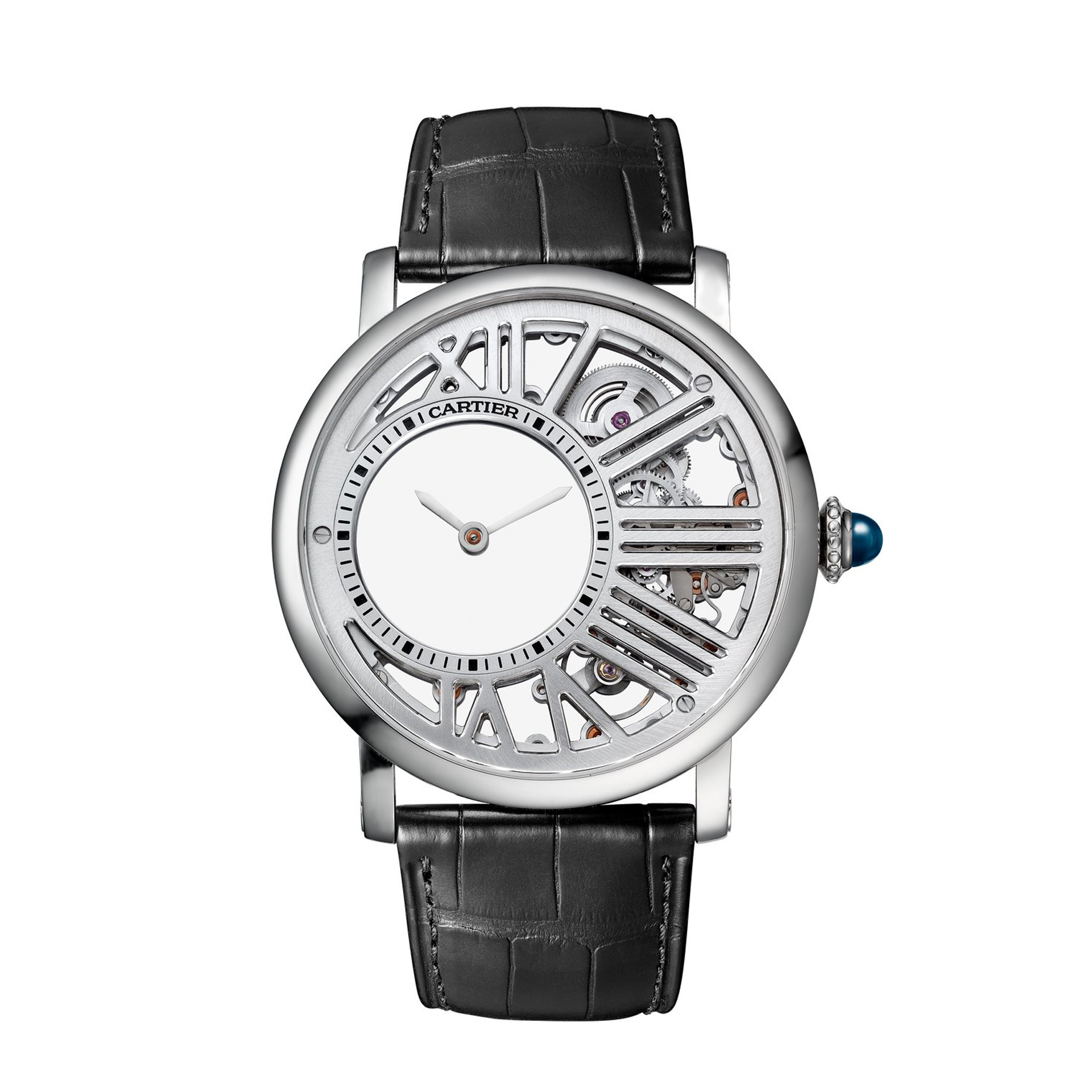 Cartier Rotonde de Cartier Skeleton Mysterious Hour