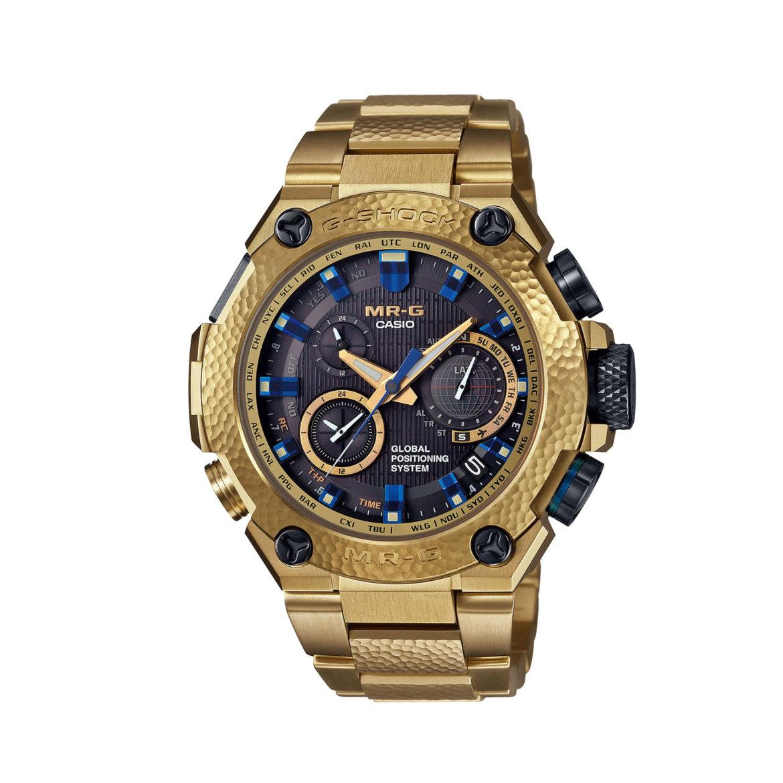 Casio G-Shock MR-G GPS Hybrid Gold Hammer Tone MRGG1000HG-9A
