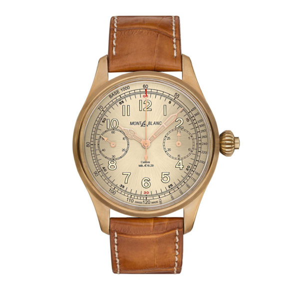 Montblanc 1858 Chronograph Tachymeter Limited Edition Bronze