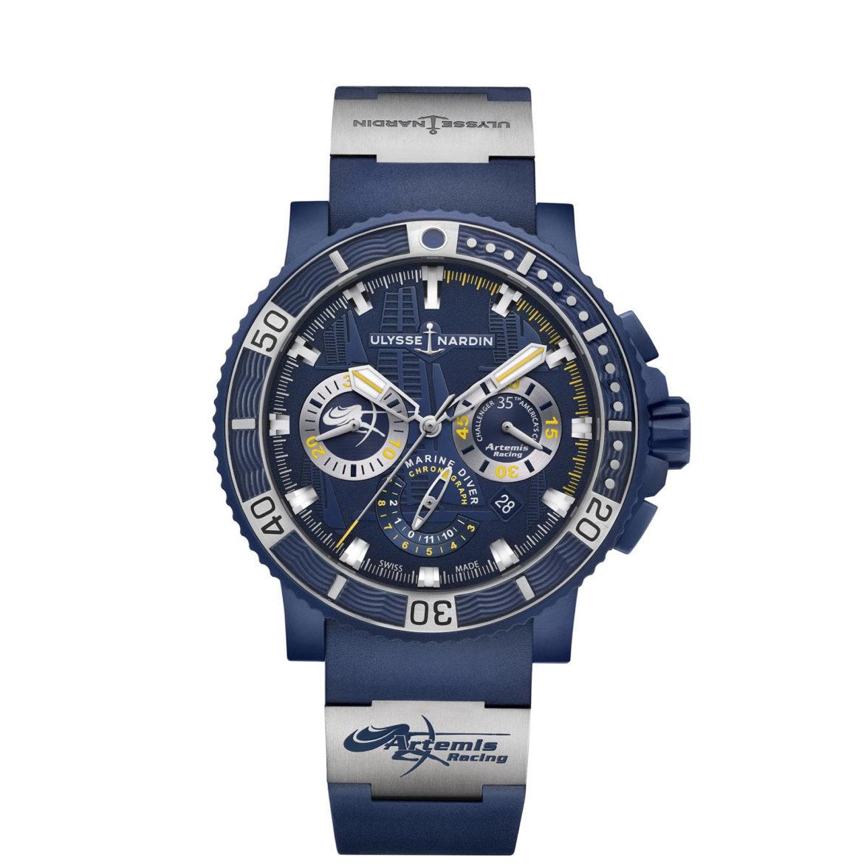 Ulysse Nardin Diver Chronograph Artemis Racing 2017