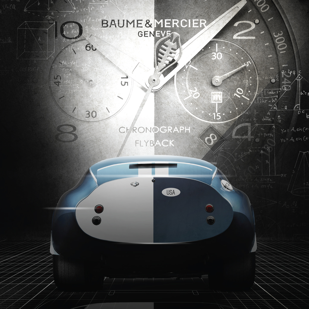 baume mercier clifton club shelby cobra csx2299 your watch hub. Black Bedroom Furniture Sets. Home Design Ideas
