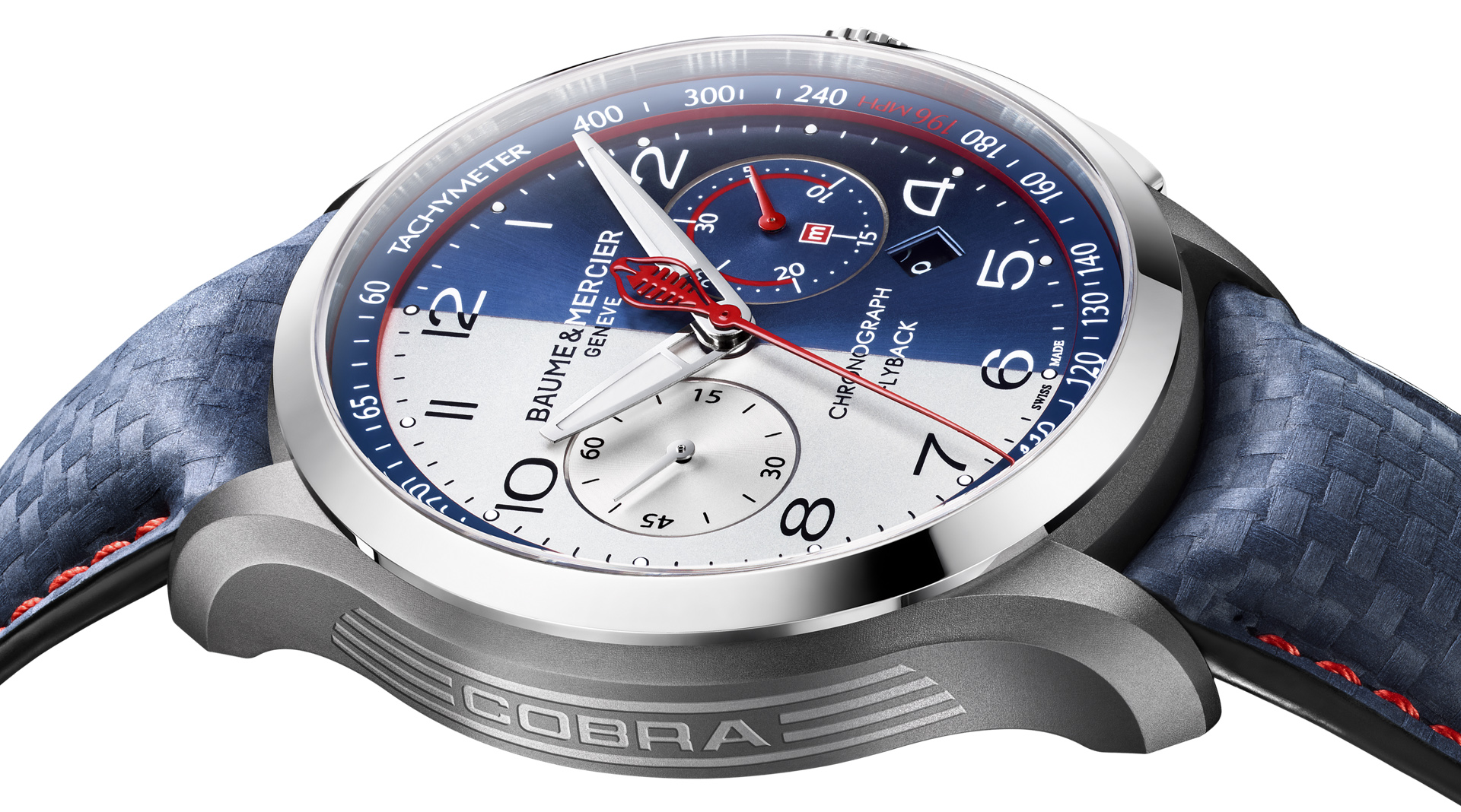 Baume & Mercier Clifton Club Shelby Cobra CSX2299 side
