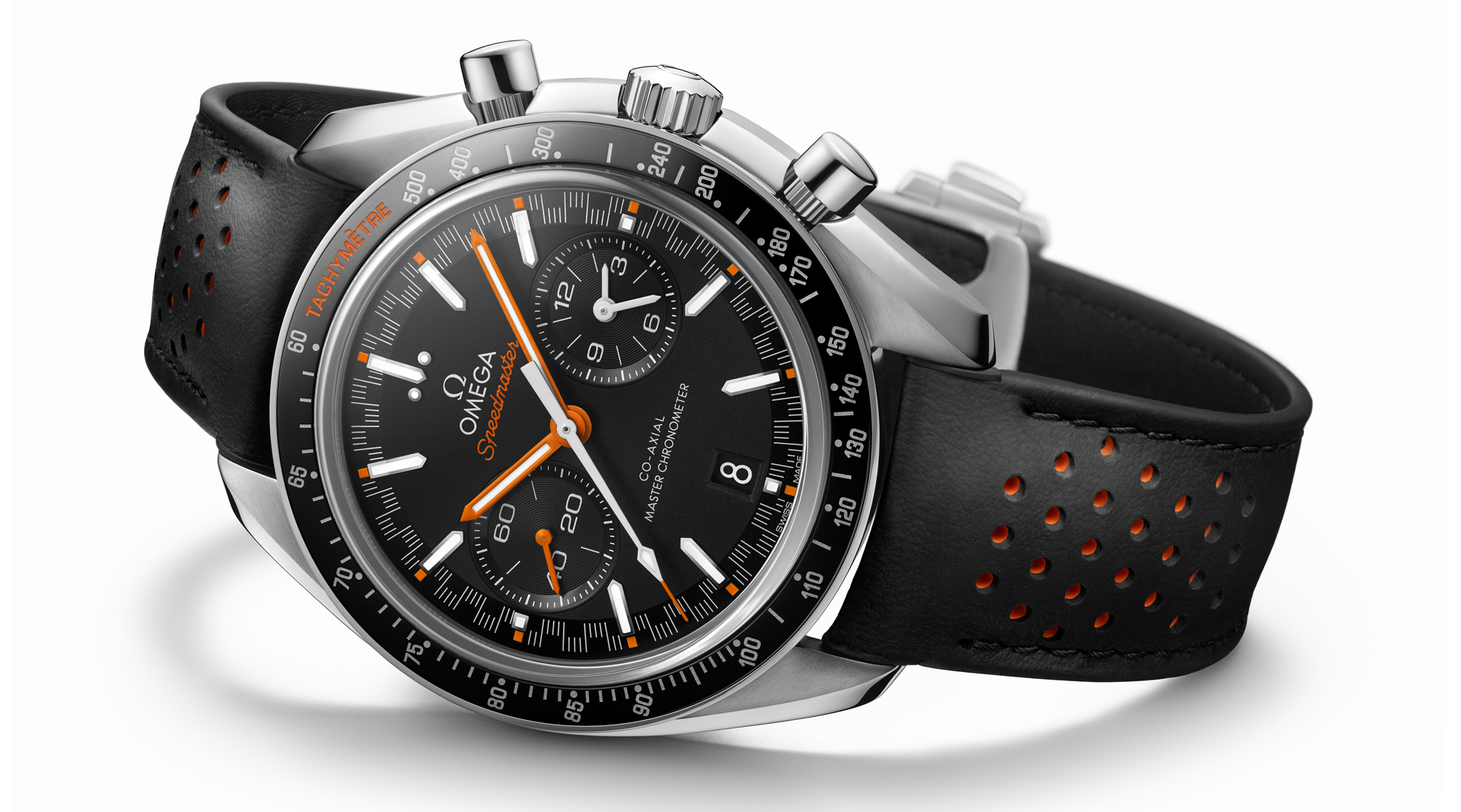 Omega Speedmaster Moonwatch Automatic Master Chronometer side