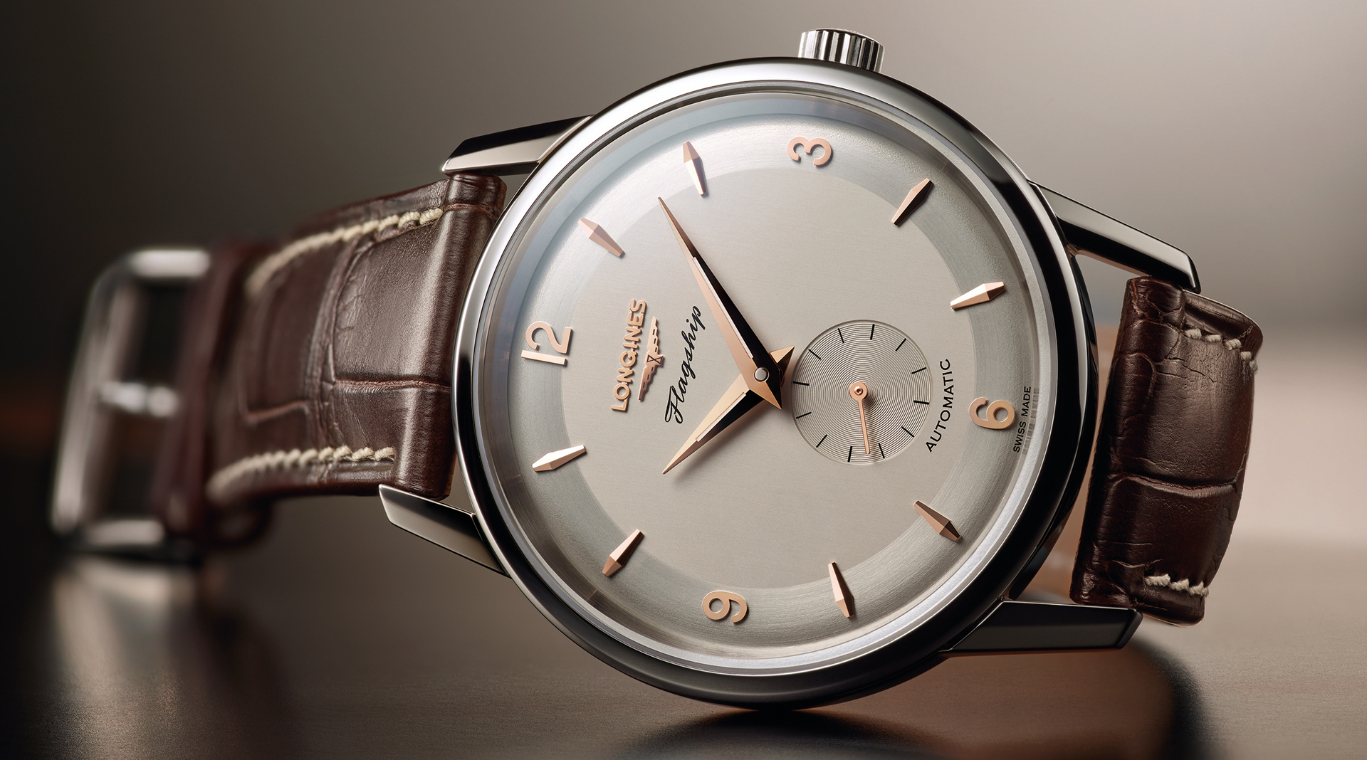 Longines Flagship Heritage 60th Anniversary 1957-2017 side