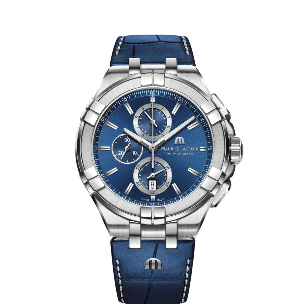 Maurice Lacroix Aikon Chronograph 44 mm in blue