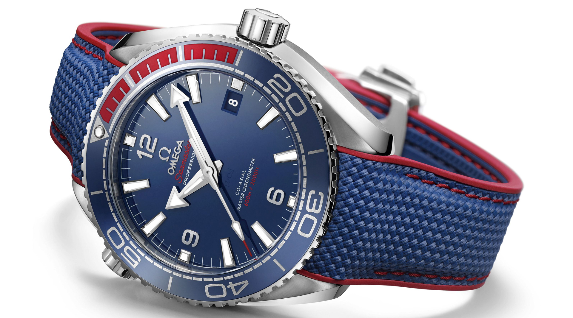 Omega Seamaster Planet Ocean PyeongChang 2018 Limited Edition side