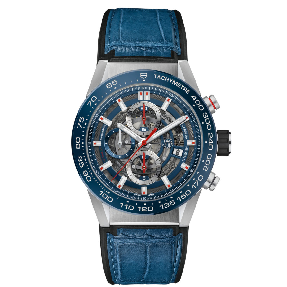 TAG Heuer Carrera Calibre Heuer 01 Automatic Chronograph 100M 43mm