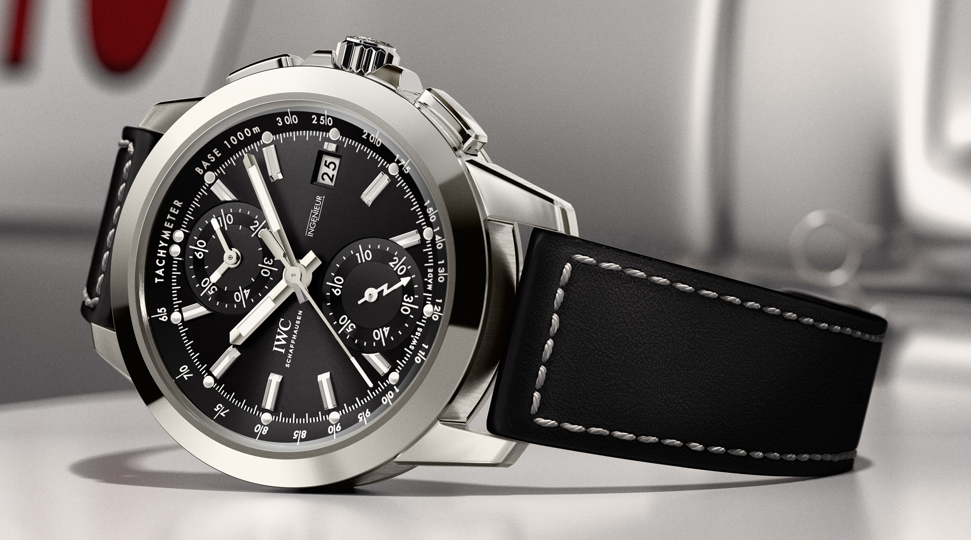 IWC Ingenieur Chronograph Sport side