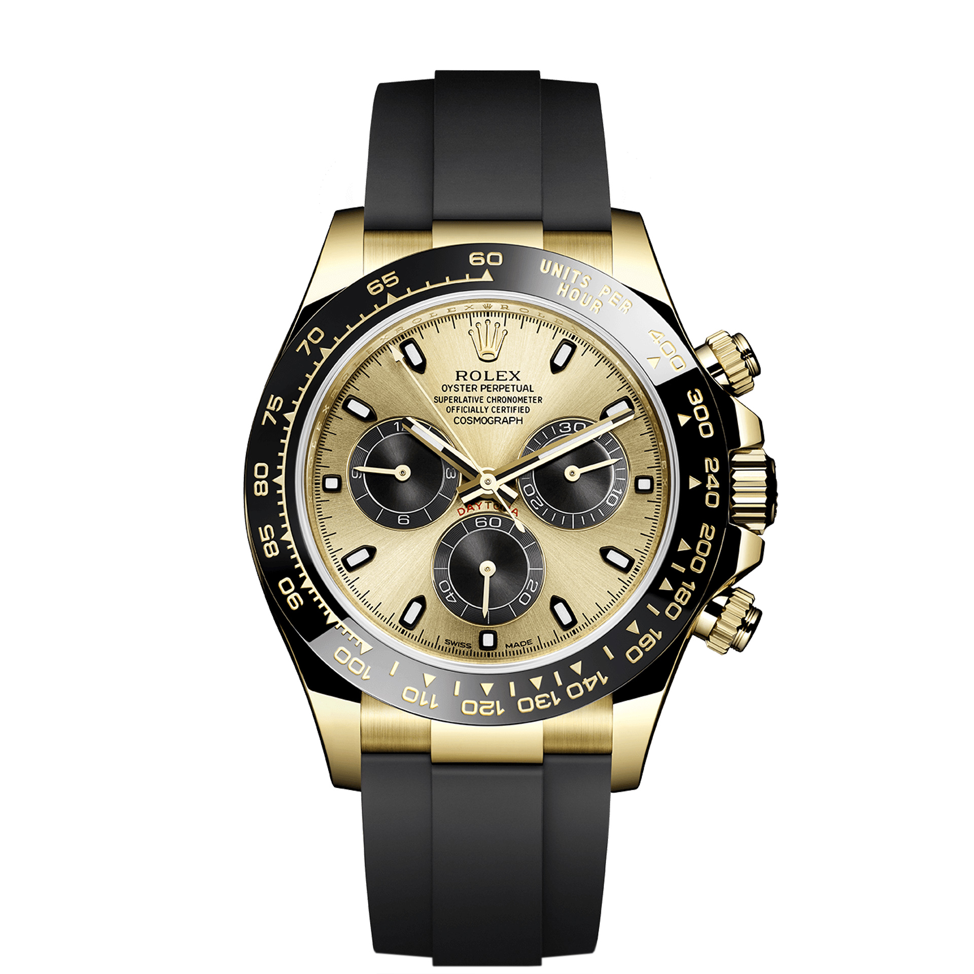 Rolex Cosmograph Daytona Oysterflex 2017 Gold Your Watch Hub