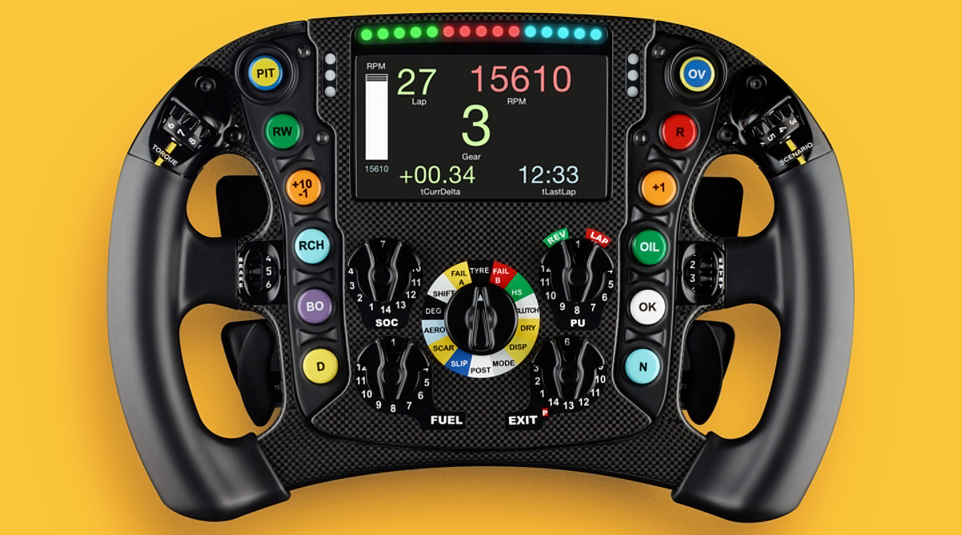 Bell & Ross steering wheel Formula One 2017