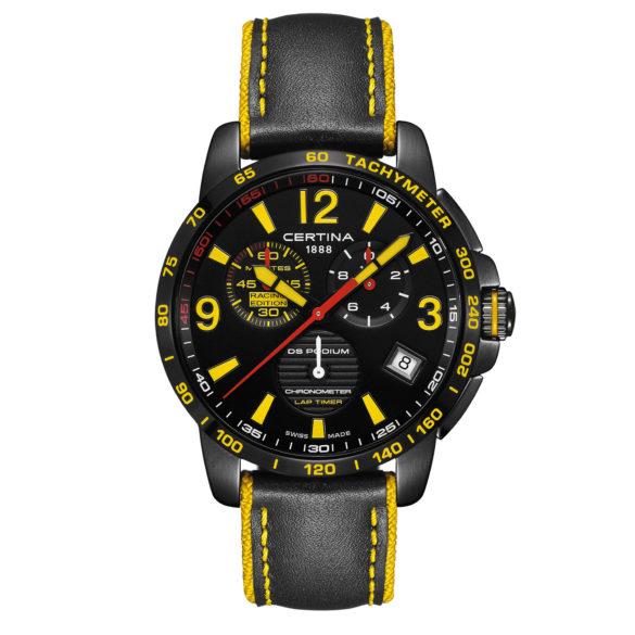 Certina DS Podium Chronograph Lap Timer Racing Edition