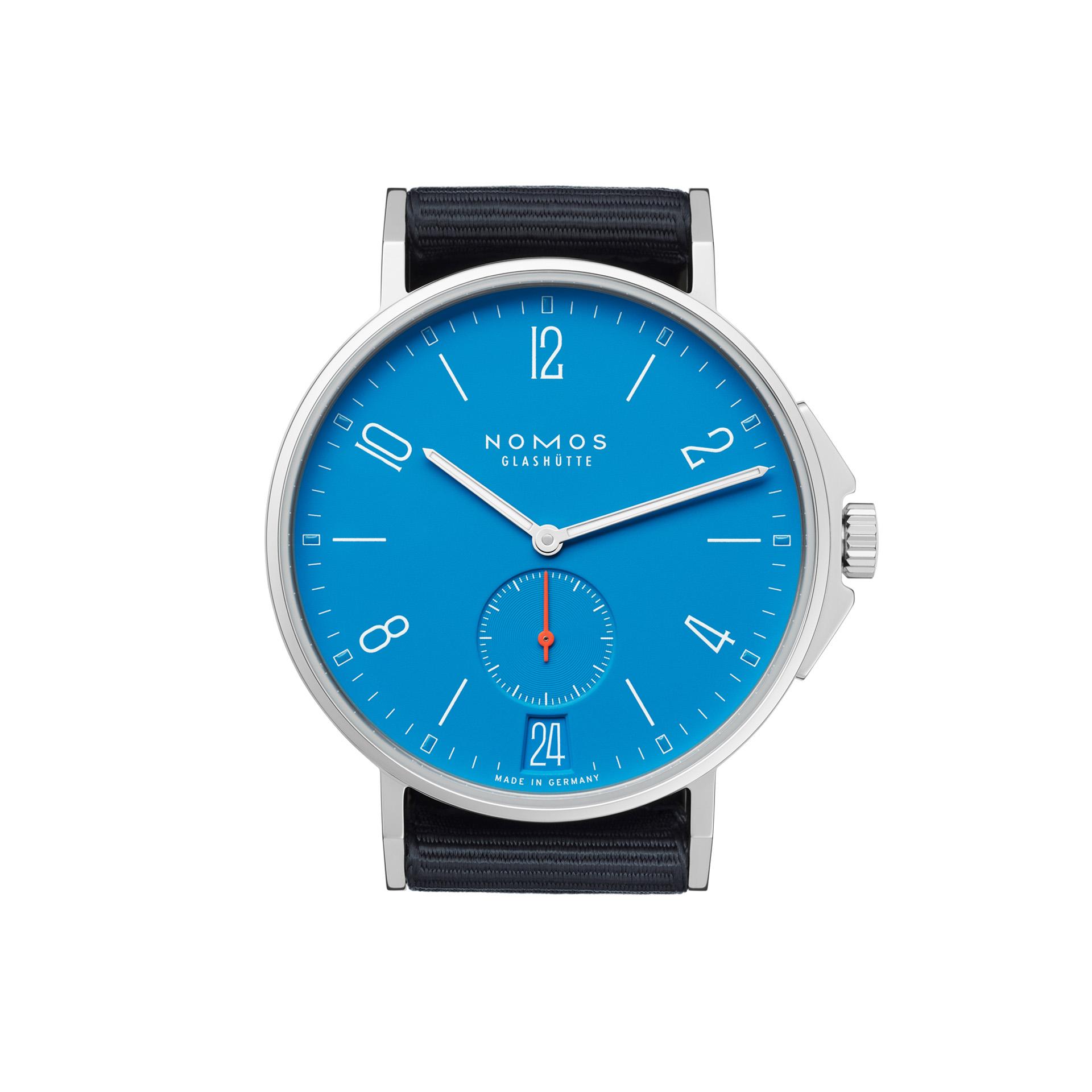 Nomos Glashuette Aqua Ahoi Datum Your Watch Hub