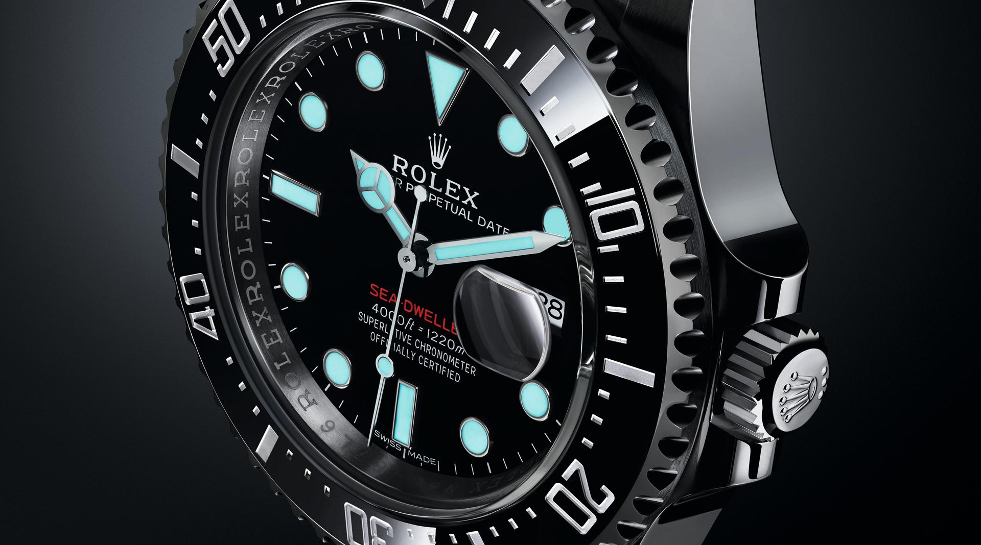 Rolex Oyster Perpetual Sea-Dweller 2017 dark