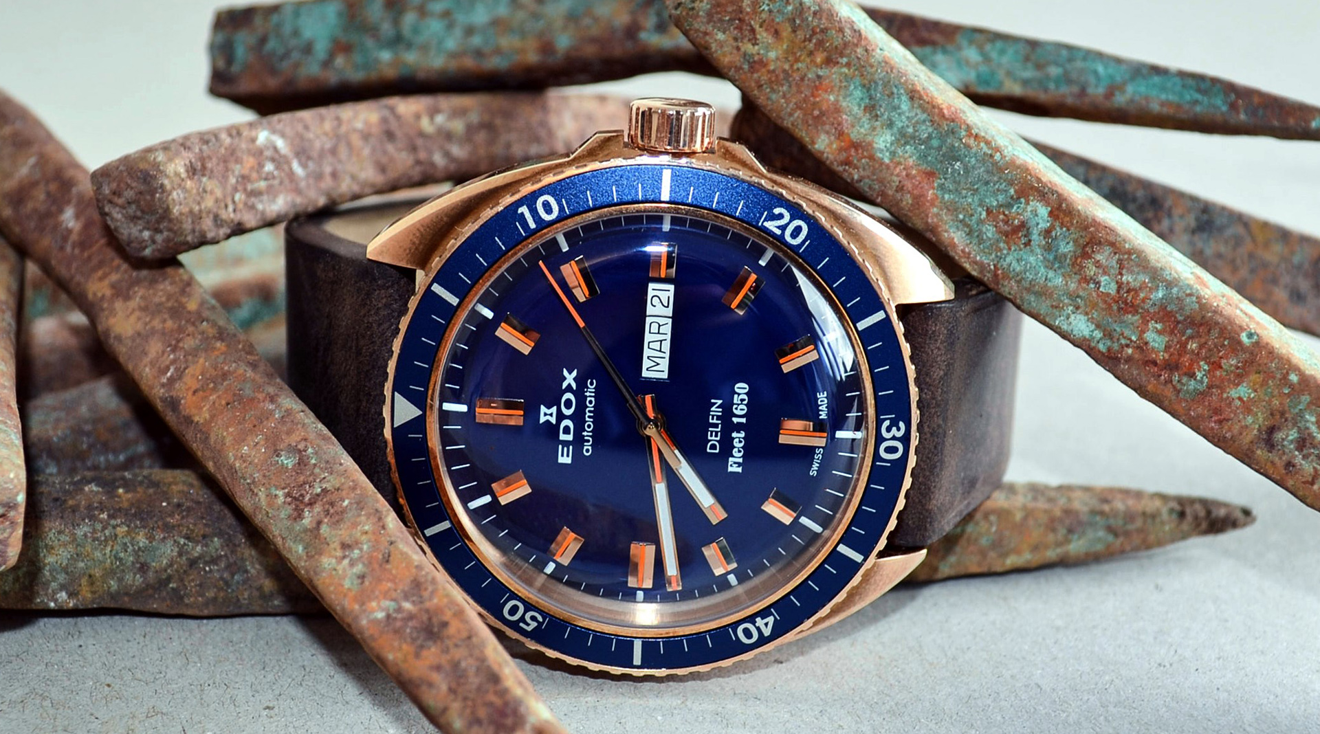 Edox Delfin Fleet 1650 Limited Edition 88004 BRZBU BUI