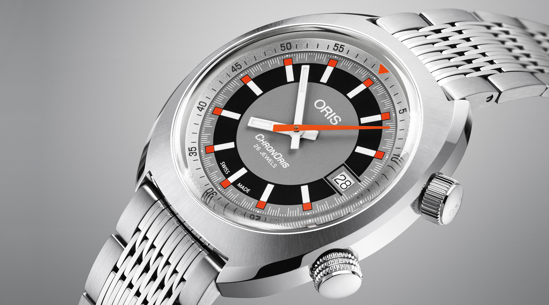 Oris Chronoris Date side