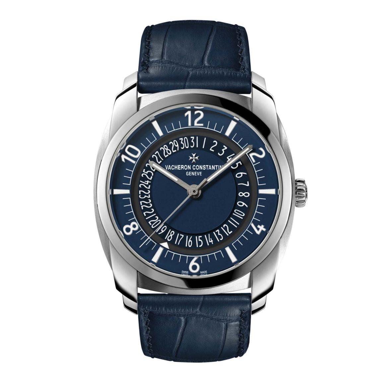 Vacheron Constantin Quai de L'Ile Steel Blue 4500S/000A-B364