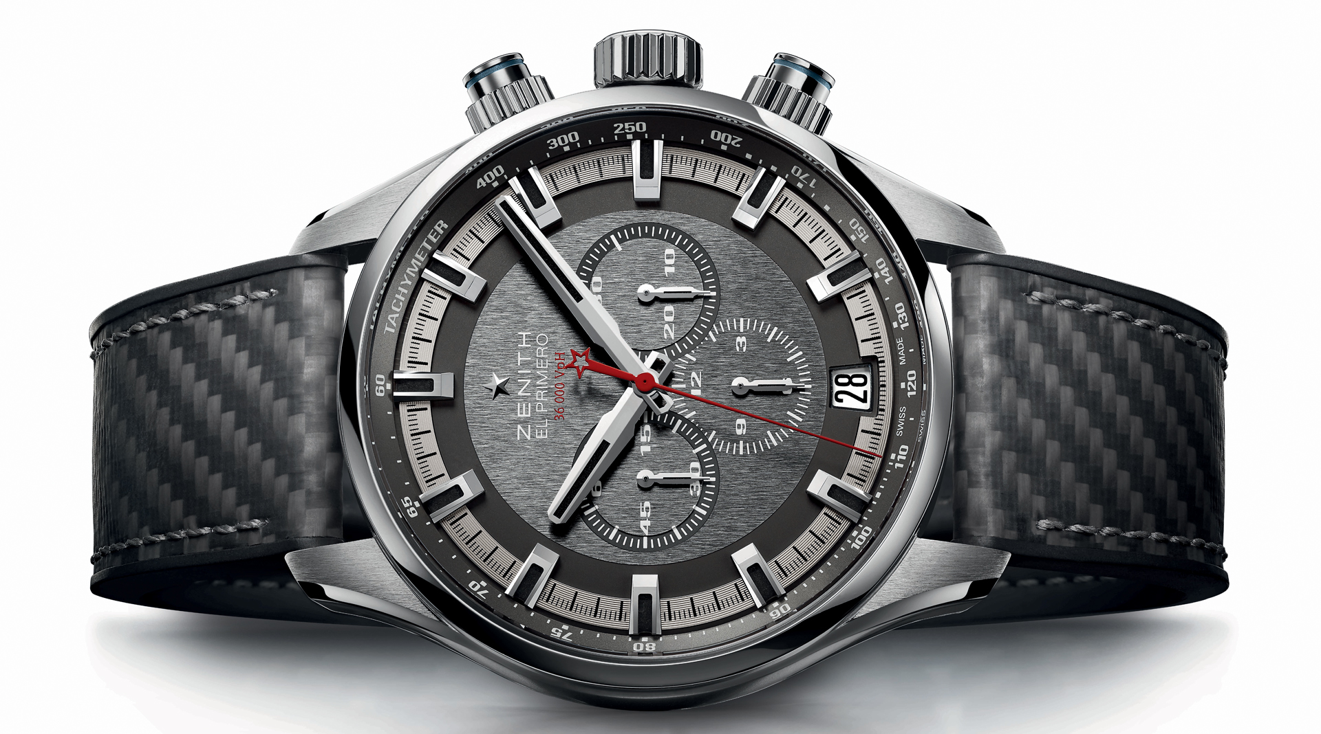 Zenith Chronomaster El Primero Sport Land Rover BAR Team Edition side