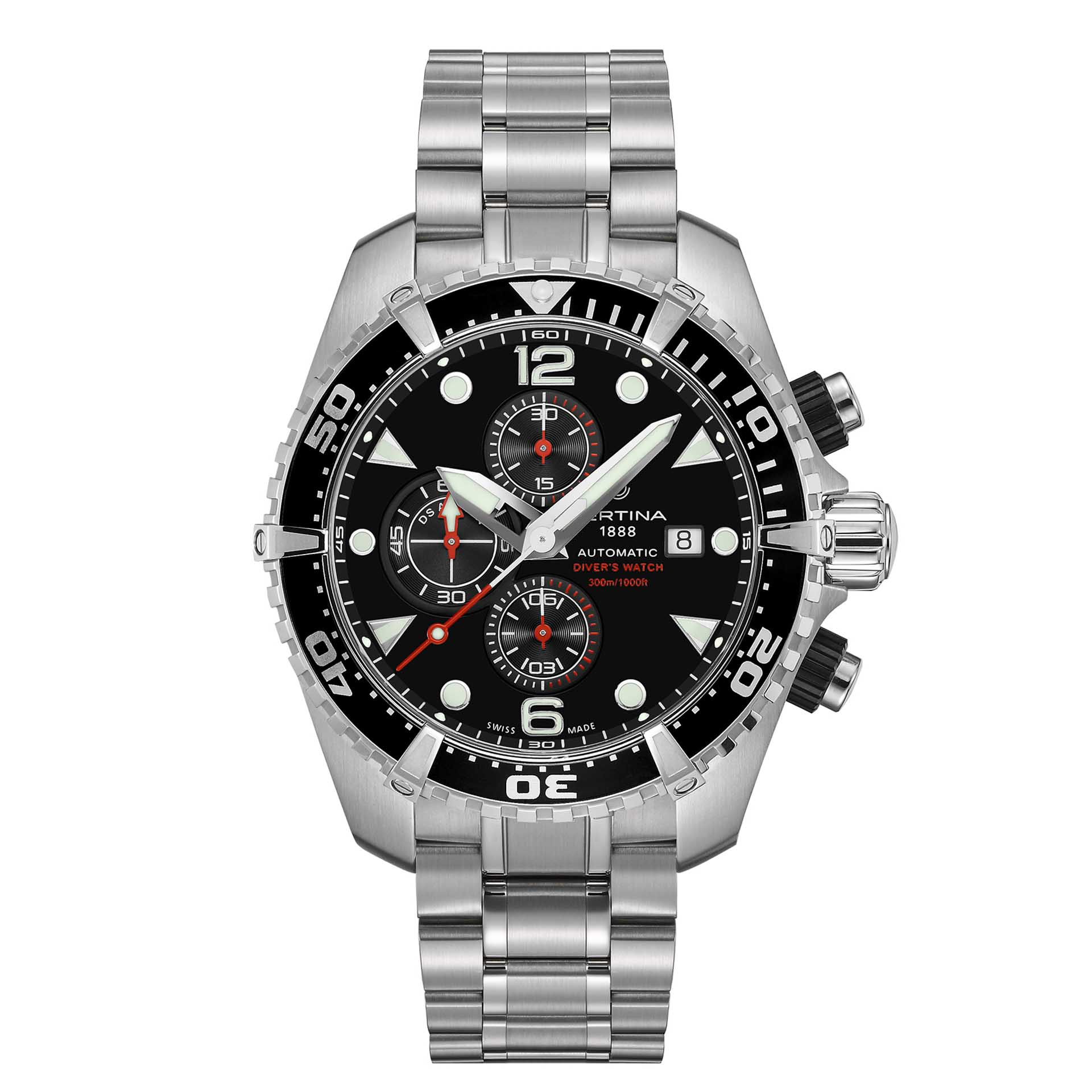 certina ds action diver chronograph your watch hub