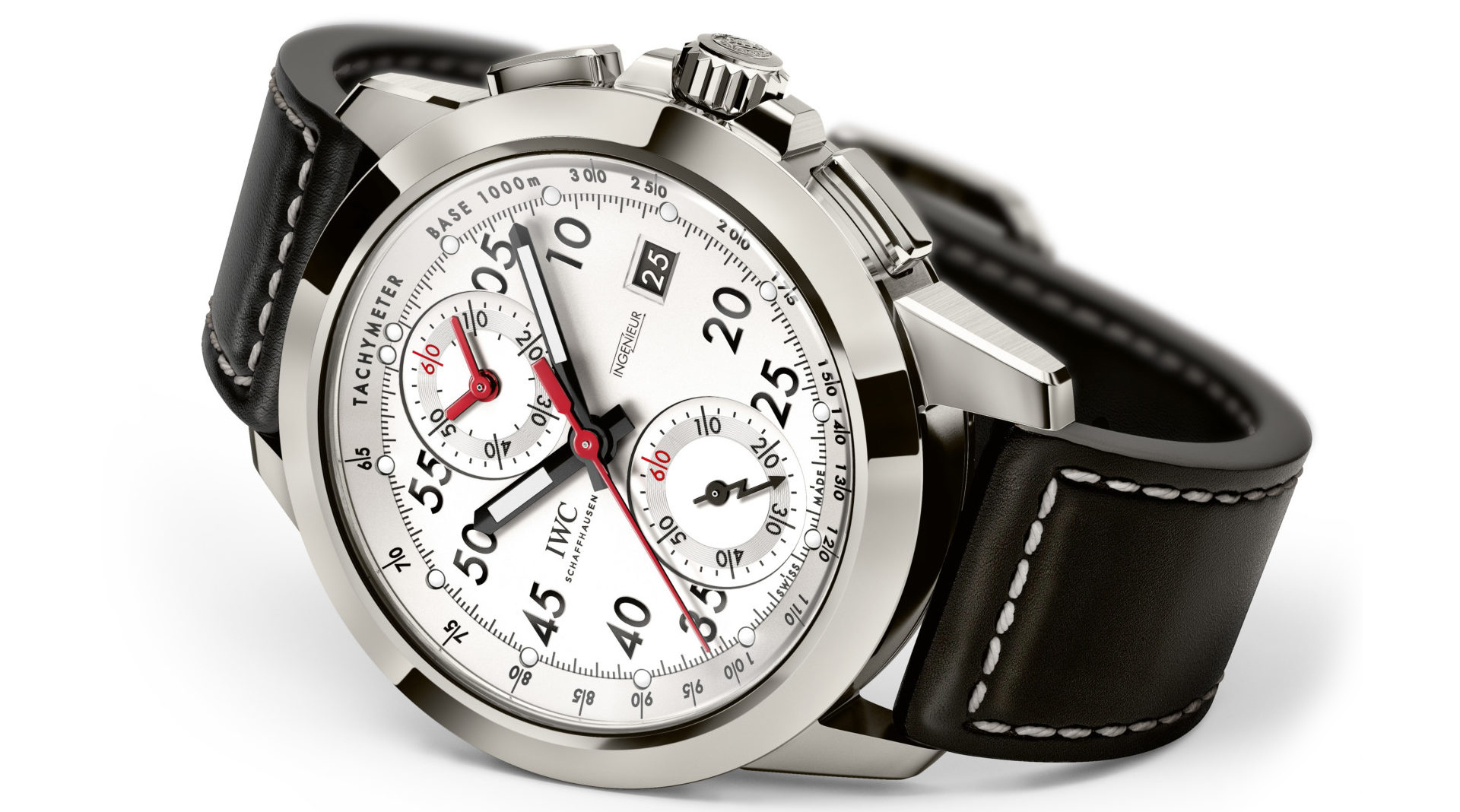 IWC Ingenieur Chronograph Sport Edition 50th Anniversary of Mercedes-AMG IW380902 right