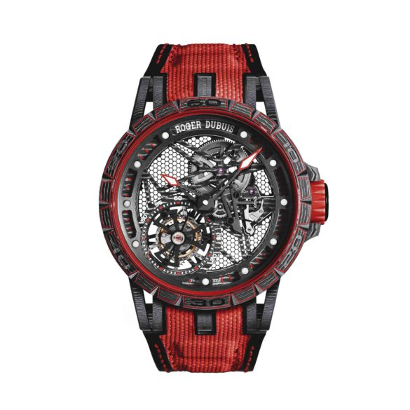 Roger Dubuis Excalibur Spider Carbon Skeleton Flying Tourbillon RDDBEX0572