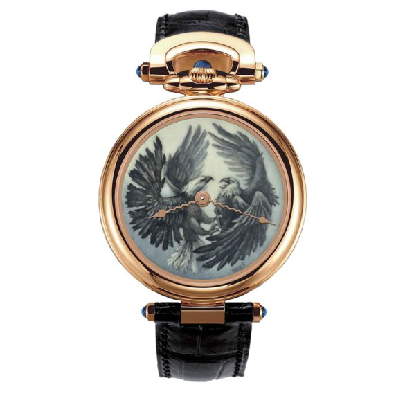 Bovet Amadeo Fleurier 43 Two Bald Eagles Grand Feu Enamel