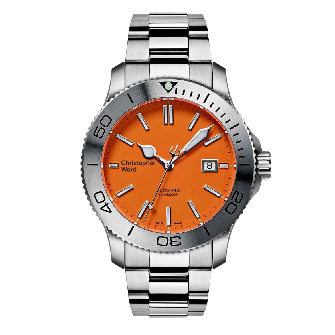 Christopher Ward C60 Trident 316L Limited Edition C60-43ADA2-S00O0