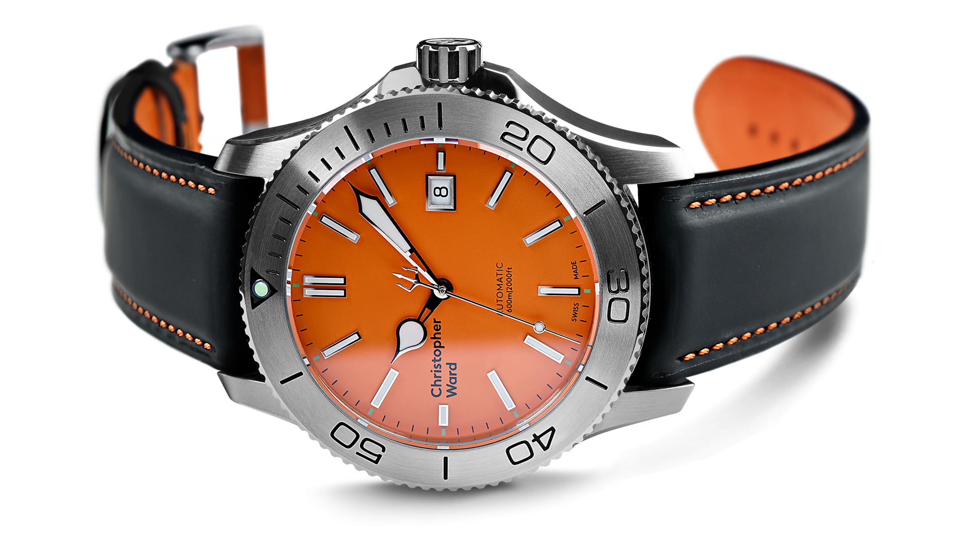 Christopher Ward C60 Trident 316L Limited Edition side