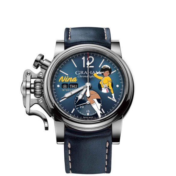 Graham Chronofighter Vintage Nose Art Ltd