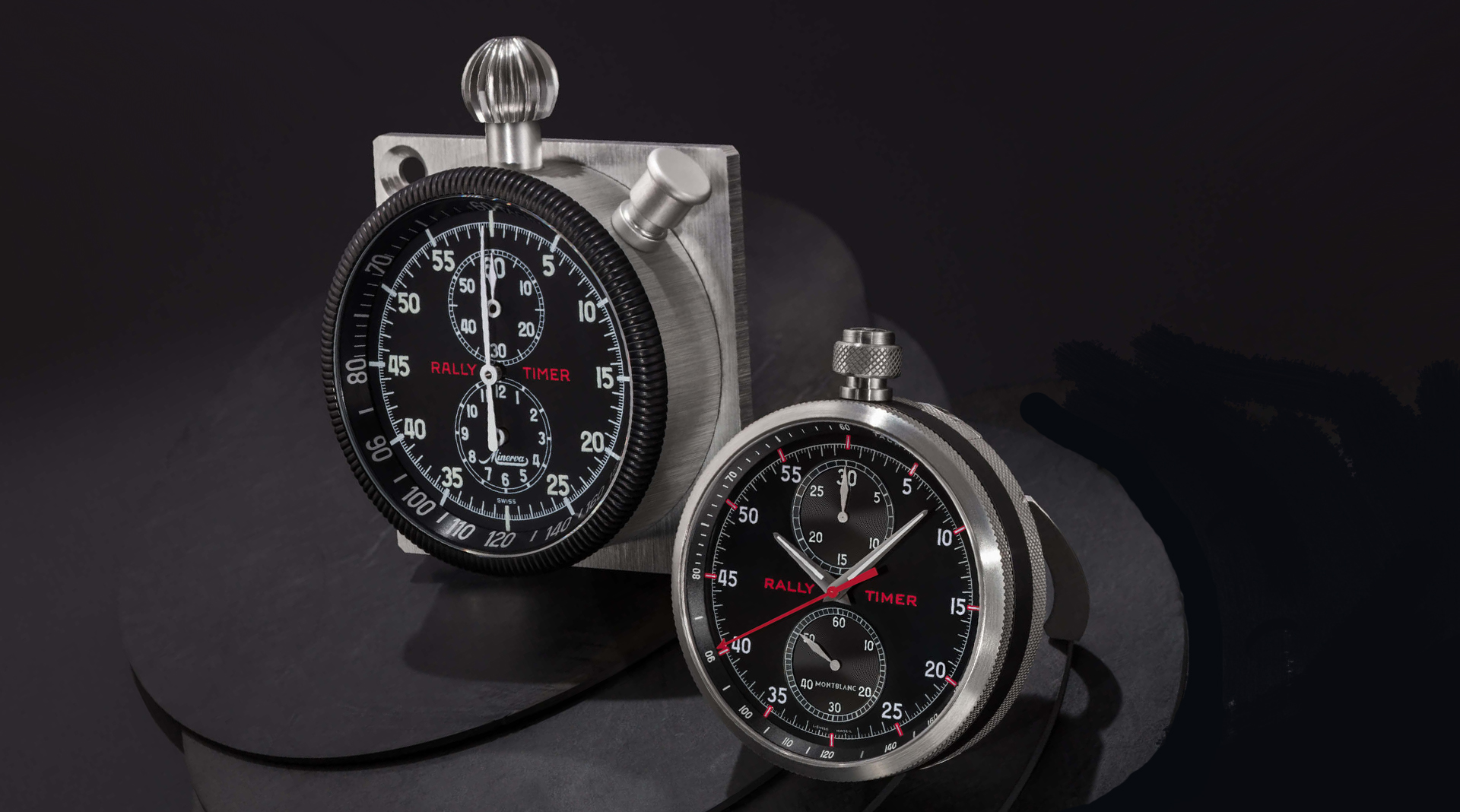 Montblanc TimeWalker Chronograph Rally Timer Counter Limited Edition side