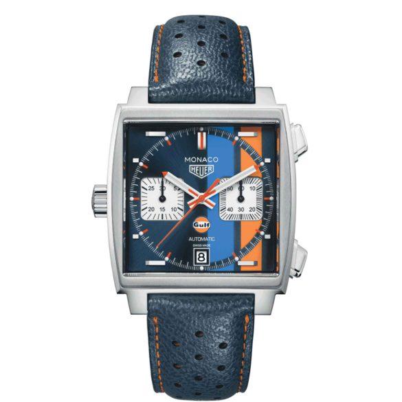 TAG Heuer Monaco Gulf Special Edition 50th Anniversary Ref. CAW211R