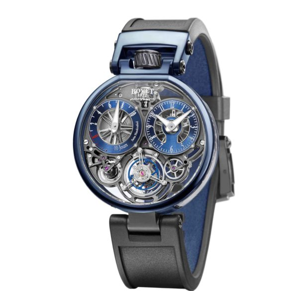 Bovet Ottantasei Flying Tourbillon blue and bronze edition
