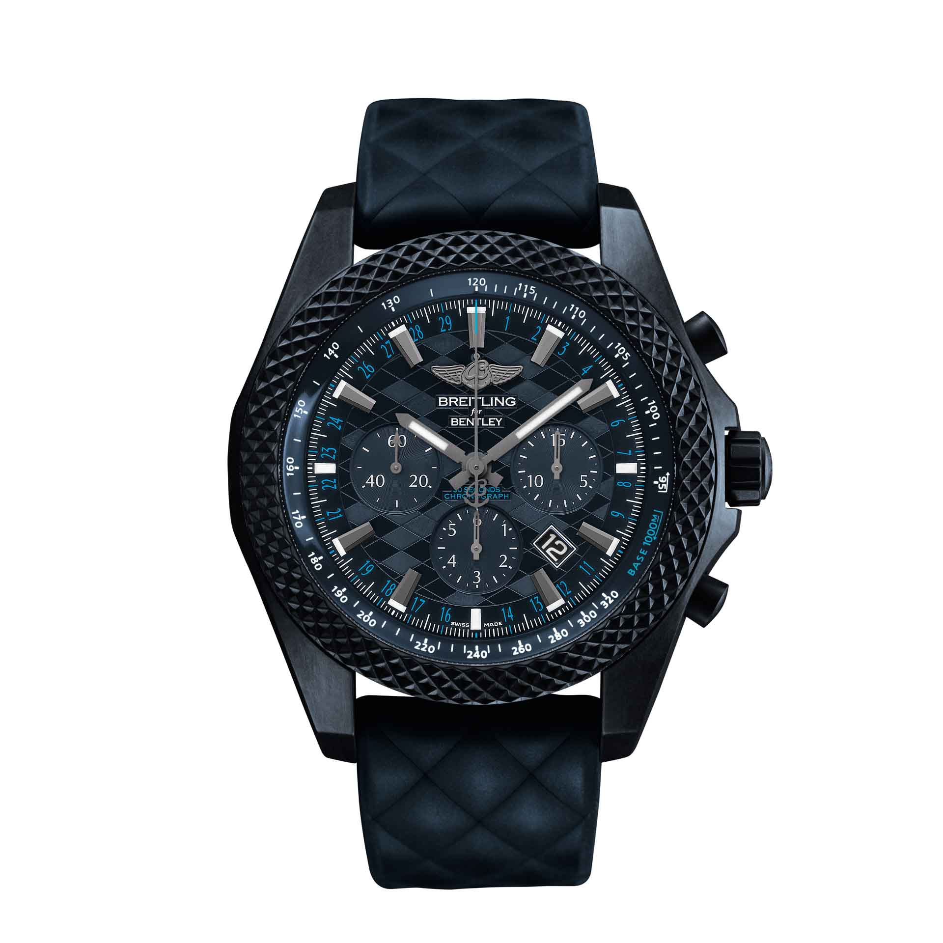 Breitling Bentley Gt Wristwatches: Breitling For Bentley GT Dark Sapphire Edition